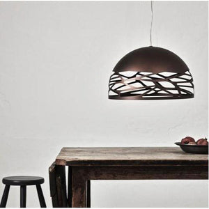 Contemporary Italian Dome Pendant Light Bronze | Assorted Sizes-Pendants-Studio Italia Design (Form)-Lighting Collective