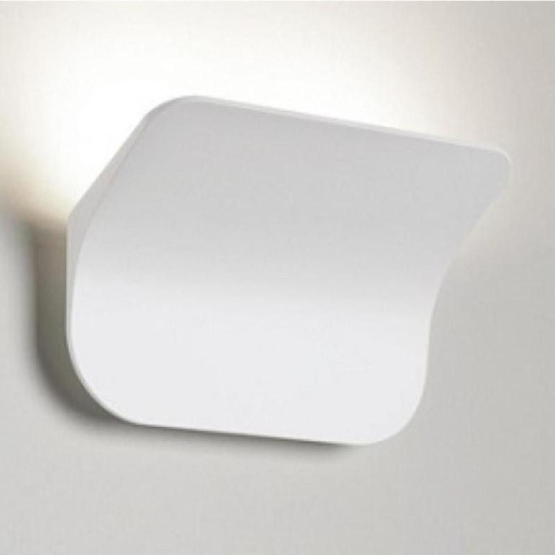 Contemporary LED Wall Light - White