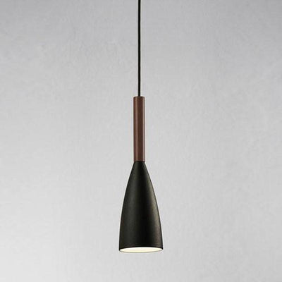 Pure Pendant Light With Oiled Walnut Accent | Assorted Colours-Pendants-Nordlux (Form)-Lighting Collective