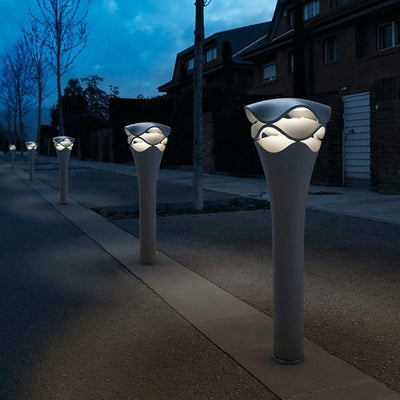 Decorative Modern Bollard Light Lifestyle