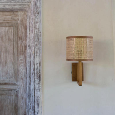 Organic Timber Wall Sconce | Lighting Collective