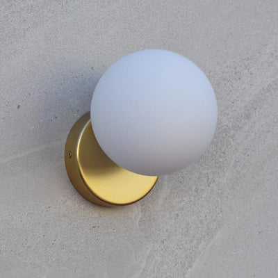 Tin tin wall light gold off - Lighting Collective
