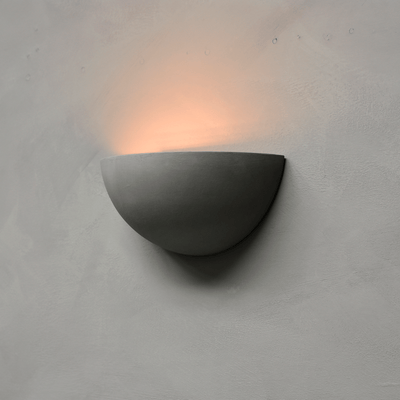 Contemporary Plaster Wall Light Superlux WL1602