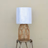 Natural Coastal Rattan Table Lamp | Lighting Collective