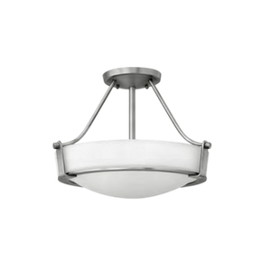 Hamptons Bold Etched Glass Ceiling Light - Lighting Collective