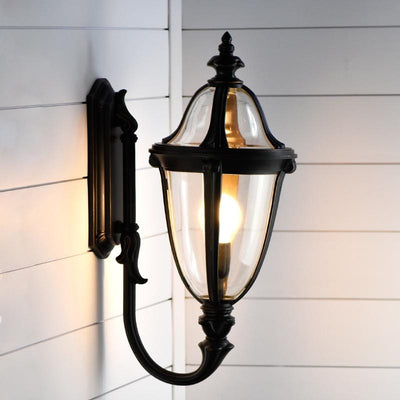 Black Exterior Coach Light Mayfield
