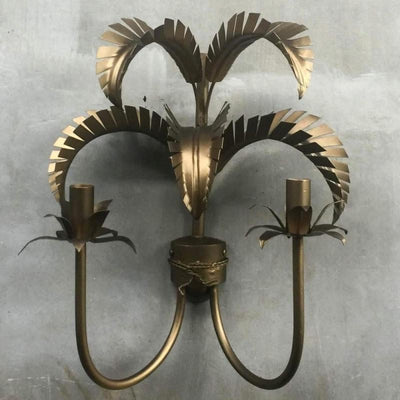 Iron Palm Springs Wall Light | Assorted Finishes-Wall Lights-Gypset Cargo-Lighting Collective