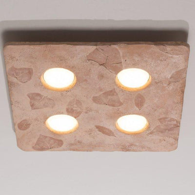 Geometric Ceramic Four Ceiling Light - Lighting Collective