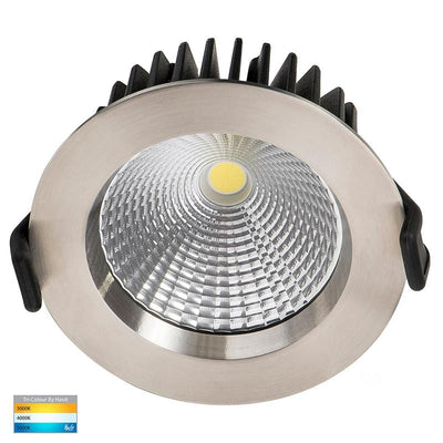 316 Stainless LED Dimmable Downlight | TRIColour