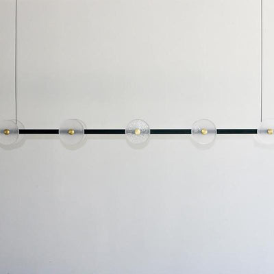 Molten Glass Linear Pendant