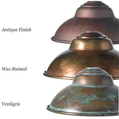 Italian Made Brass Wall Light - Assorted Finishes
