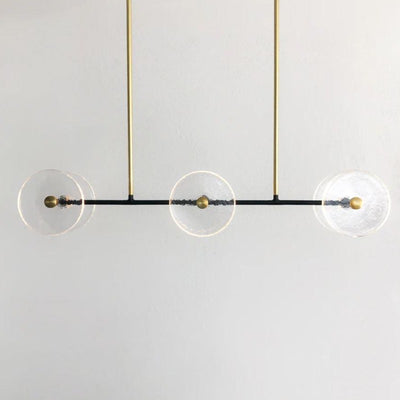 Clear Coral Linear Rod Pendant | Lighting Collective