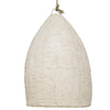 Organic Clay Rattan Pendant | Assorted Size tall