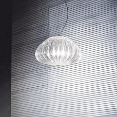 Italian glass blown pendant light