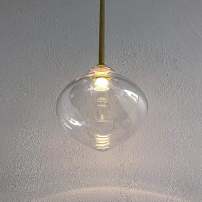 Ollo Single Rod Glass Pendant | Lighting Collective