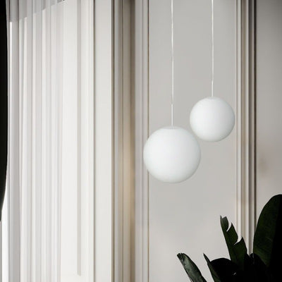 Mouth-Blown Orb Pendant | Lighting Collective
