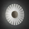 Decorative Satin Glass Wall Light Grey