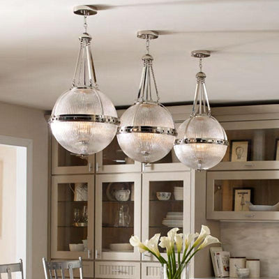 Suspended Sphere Silhouette Pendant | Assorted Finishes-Pendants-ELSTEAD (Lightco)-Lighting Collective
