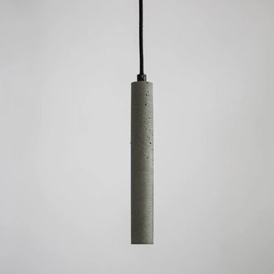 BUZAO Bang bentu Pendant | Lighting Collective |  Concrete Pendant | Grey