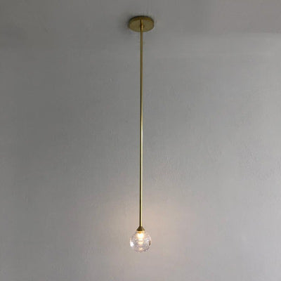 Sora Single Rod Pendant | Assorted Finishes
