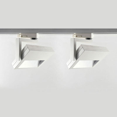 LED Wide Beam Wall Washer Track Kit 0.6M & 2Light | White | Black | S-Component-Track Lighting-Gentech (R&C Agency)-Lighting Collective