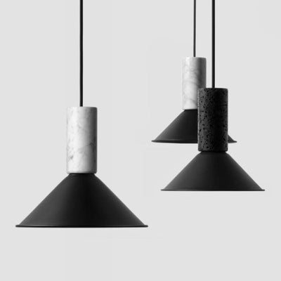 Conical Stone Suspended Pendant | BUZAO | Lighting Collective