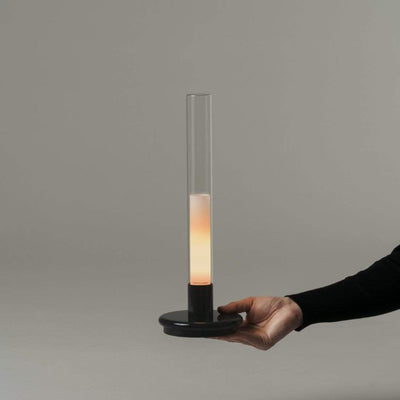 Portable Table Lamp Inspired by Oil Lantern - Lighting Collective