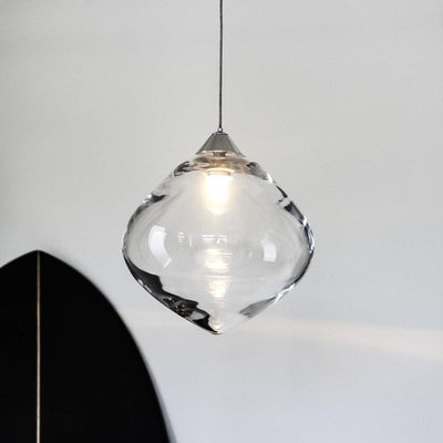 Tinted Glass Drop Pendant-Pendants-SØKTAS-Lighting Collective