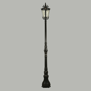 Traditional Lamp Post Domain-Lamp Post-Lighting Inspirations (Lode)-Lighting Collective