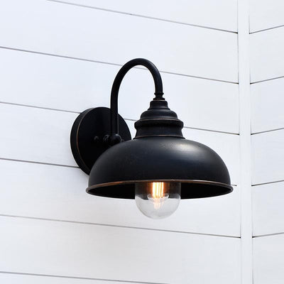 Black Traditional Exterior Wall Light | Lighting Collective