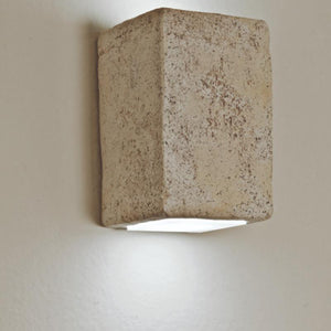 Natural Brick Wall Light | Assorted Finish Small