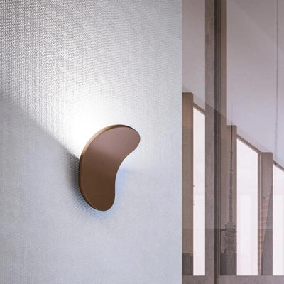 Modern Curved Wall Light | Bronze | Lighting Collective