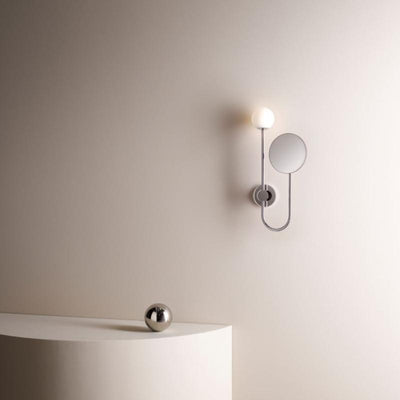 Innovative Orb Bathroom Wall Light Chrome