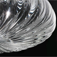 Hand-Blown Italian Crystal Pendant Light LED Compatible
