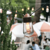 Designer Brass & Copper Festoon Lighting | Assorted Configurations-Festoon Lights-IL FANALE (Lightco)-Lighting Collective