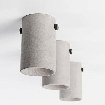 Bentu LV Contemporary Concrete Ceiling Light | Lighting Collective