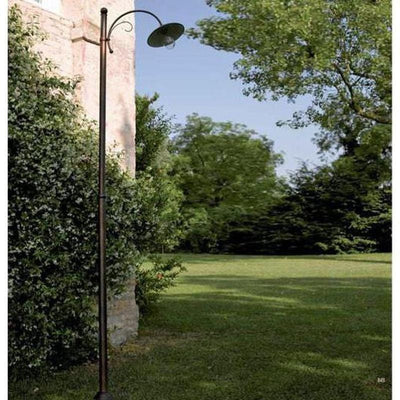 Italian Made Lamp Post with Curl Detail | LightworksOnline-Lamp Post-FAVEL (Lightco)-Lighting Collective