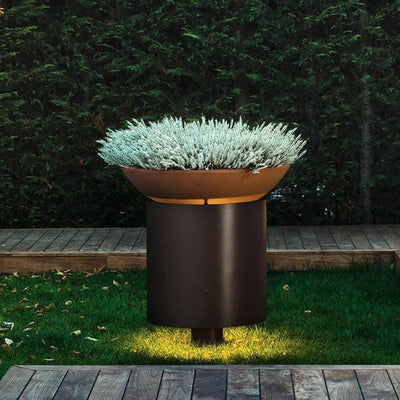Designer Bollard Light & Planter Bowl | Assorted Sizes-Bollard-Torremato (Light Co)-Lighting Collective
