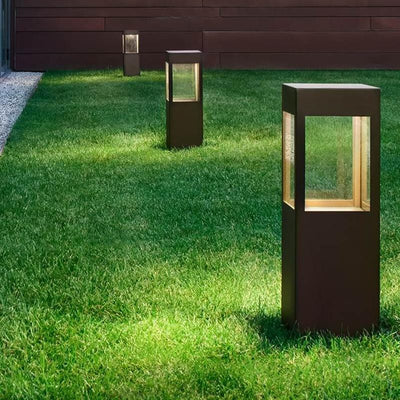 Exterior Italian Garden Bollard Light | Assorted Heights-Bollard-Torremato (Light Co)-Lighting Collective