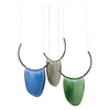 Decorative Glass Pendant Set