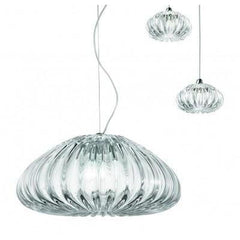Hand-Blown Italian Crystal Pendant Light ASsorted
