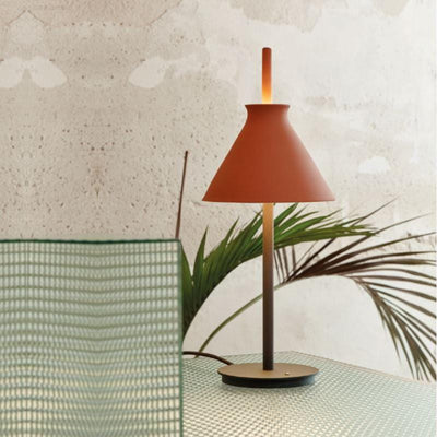 Organic Clay Cone Table Lamp | Totana terracotta