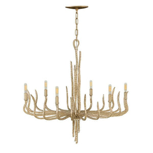 Elegant Large Metallic Chandelier | Various Finishes