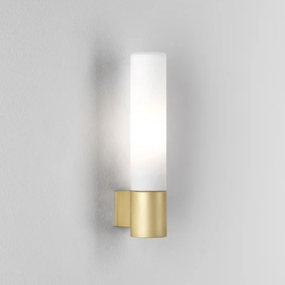 Mid Century Modern Dimmable Wall Light Matt Gold | Lighting Collective