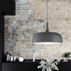 Nordic Styled Pendant Light | Metal & Timber