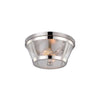 Hamptons Clear Seeded Glass Ceiling Light | Lighting Collective