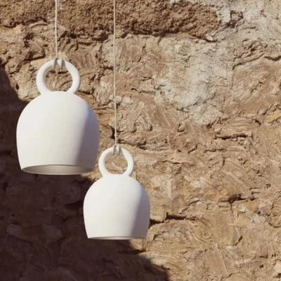 Ceramic Spanish Bell Pendant Light Klaylife Calo