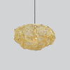 Artistic Mesh Pendant | Assorted Finish brass small