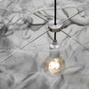 Artistic Mesh Pendant | Assorted Finish steel detail