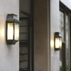 Simple French External Wall Light Set